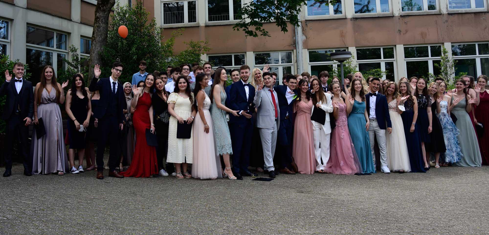 Wir gratulieren dem Abitur-Jahrgang 2021!